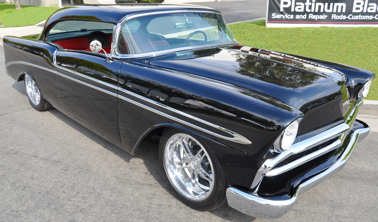 1956 Chevrolet Bel Air with Fuel Injected LS